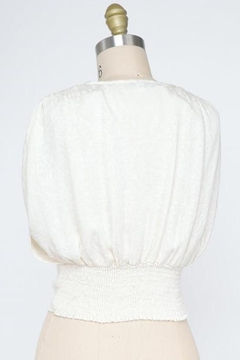 Final Touch Mademoiselle Blouse In Ivory - Alternate List Image