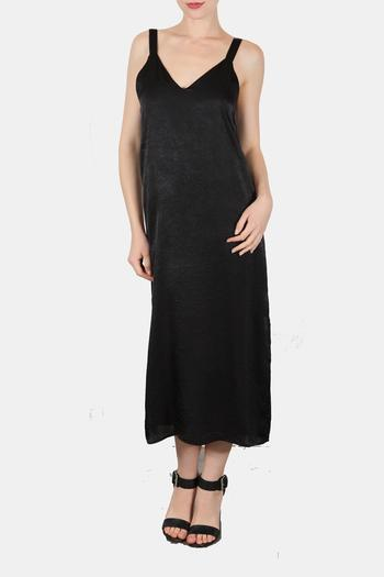 Shoptiques Product: Midnight Dreams Midi Dress - main