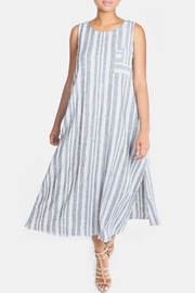 Final Touch Striped Linen Maxi Dress - Product Mini Image