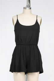 Final Touch On The Go Classic Black Romper In Black - Product Mini Image