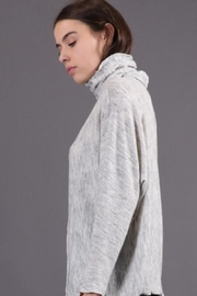 Final Touch Oversized Turtleneck - Front full body