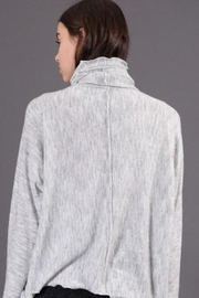 Final Touch Oversized Turtleneck - Side cropped