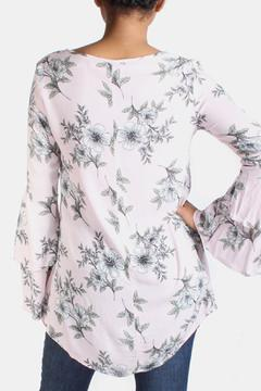 Final Touch Floral Bell Sleeve Blouse - Alternate List Image