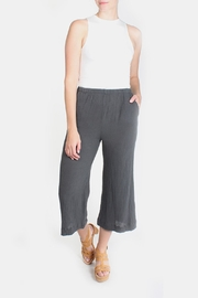 Final Touch Quilted Wide Leg Pants - Product Mini Image