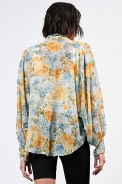 Final Touch Sheer Floral Cardigan - Alternate List Image