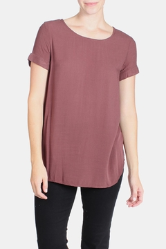 Final Touch Short Cuff Sleeve Tee - Product List Image