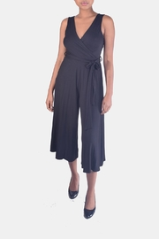 Final Touch Soft-Jersey Wrap Jumpsuit - Product Mini Image