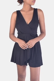 Final Touch Soft-Jersey Wrap Romper - Product Mini Image