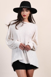 Final Touch Soft Oversized Pullover - Product Mini Image