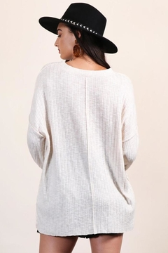 Final Touch Soft Oversized Pullover - Alternate List Image