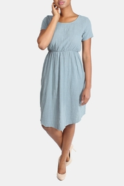 Final Touch Linen Midi Dress - Side cropped