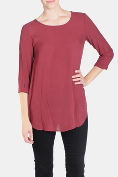 Final Touch Soft Woven Blouse - Product List Image