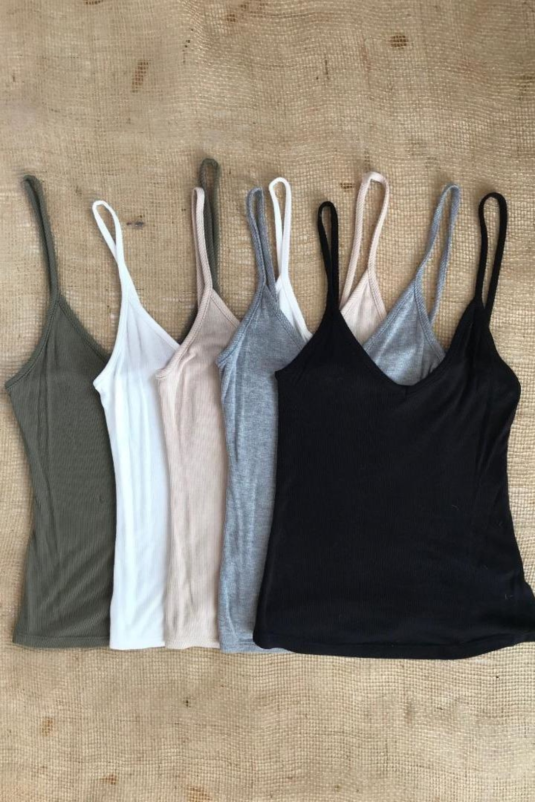 Final Touch Softest Camisole Tank - Front Cropped Image