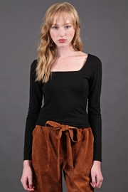Final Touch Square Neck Top - Front cropped