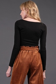 Final Touch Square Neck Top - Side cropped