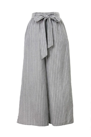 Final Touch Striped Flared Pants - Product Mini Image