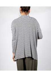 Final Touch Striped Flowy Cardigan - Side cropped