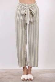 Final Touch Tie Front Pants - Product Mini Image