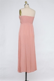 Final Touch Tied And True Strapless Tube Dress (Available In 2 Colors Black & Blush) - Front full body