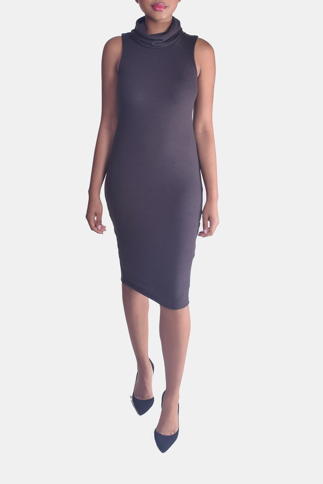 Final Touch Turtleneck Bodycon Dress - Main Image