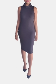 Final Touch Turtleneck Bodycon Dress - Front cropped