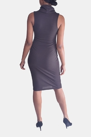 Final Touch Turtleneck Bodycon Dress - Back cropped