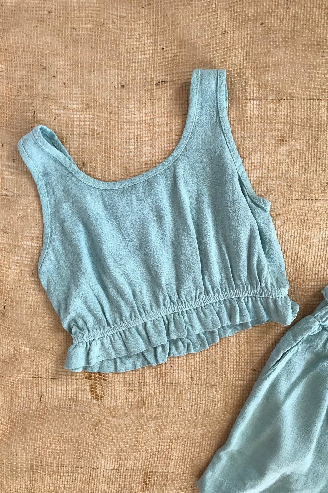 Final Touch Two-Piece Woven Set - Front Full Image