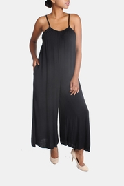 Final Touch Ultra Soft Black Jumpsuit - Product Mini Image