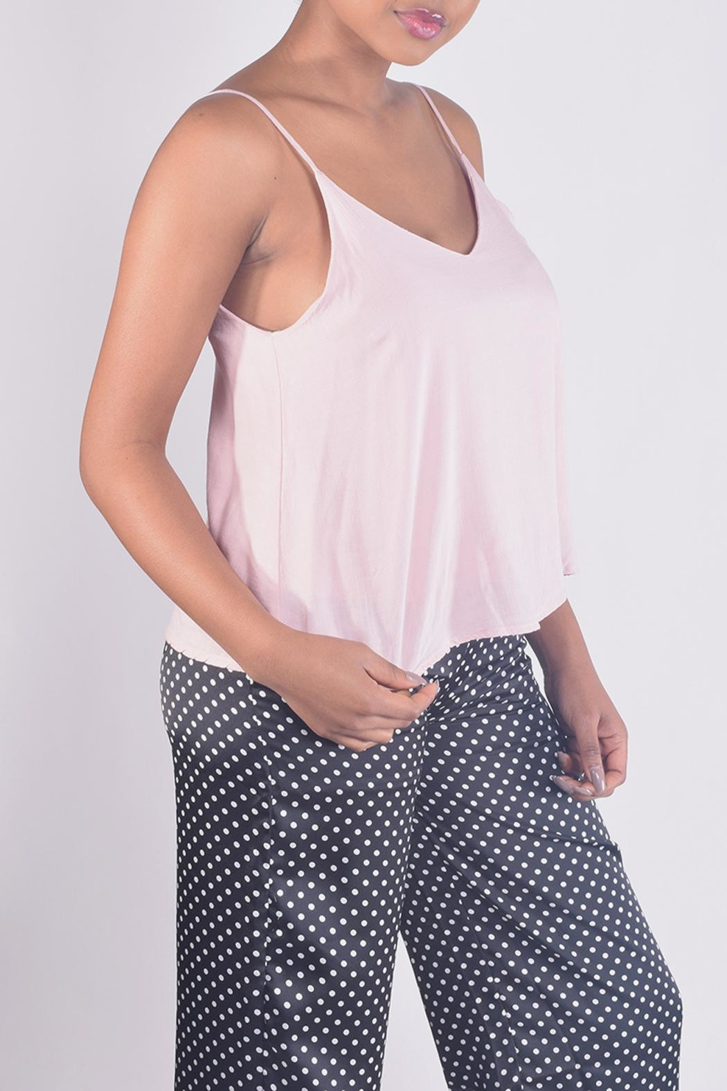 Final Touch V-Neck Camisole Top - Side Cropped Image