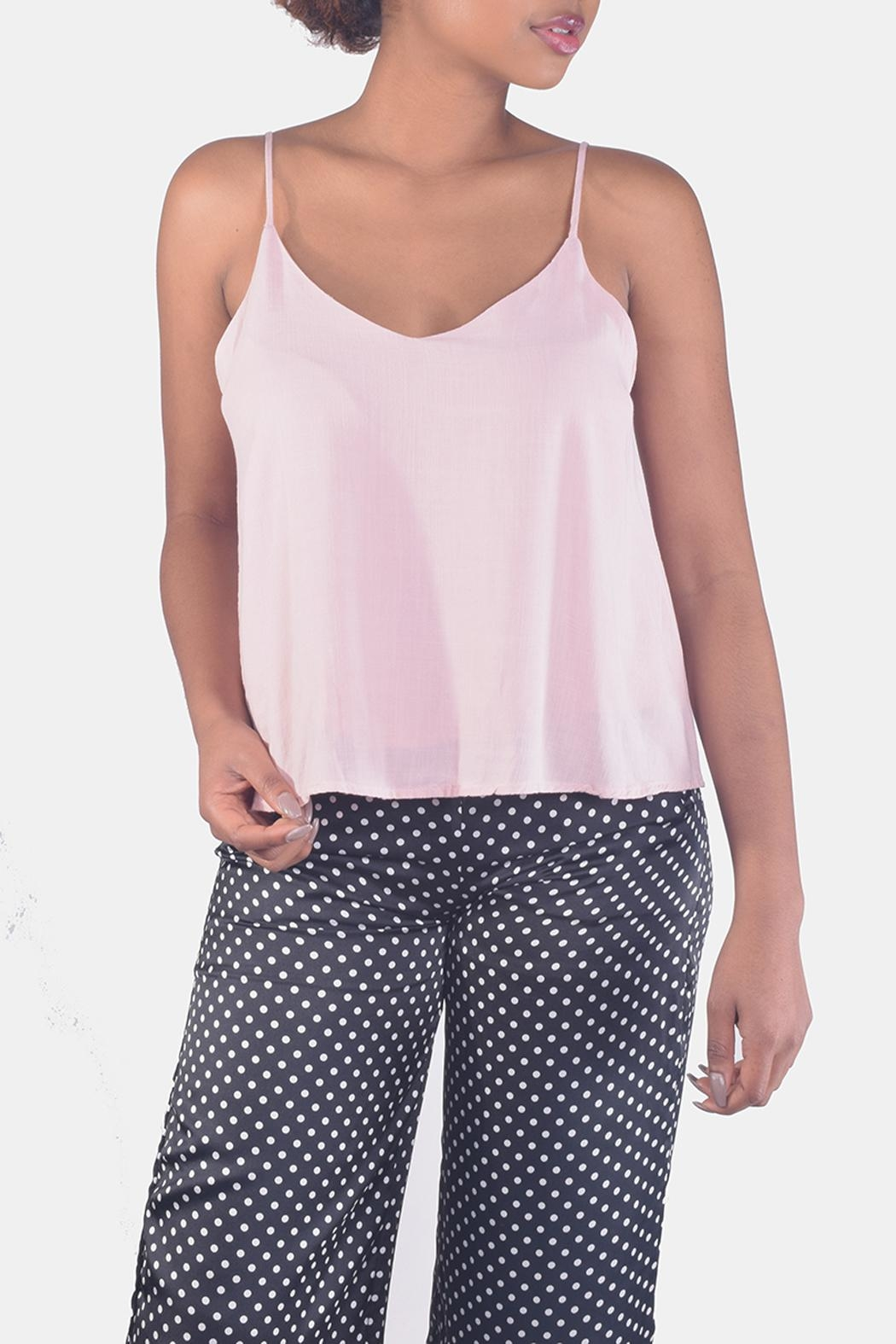 Final Touch V-Neck Camisole Top - Front Full Image