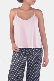 Final Touch V-Neck Camisole Top - Front full body