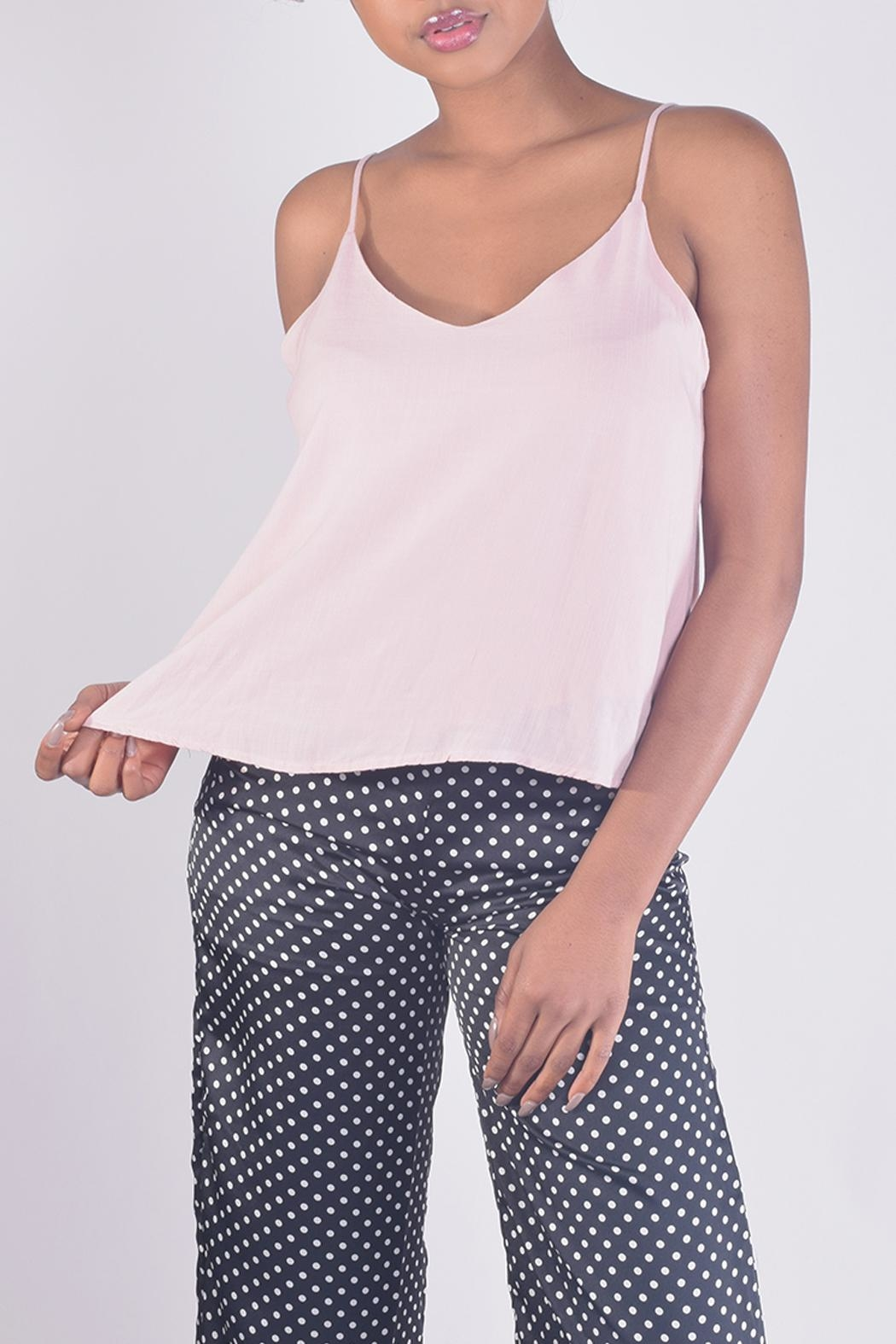 Final Touch V-Neck Camisole Top - Main Image