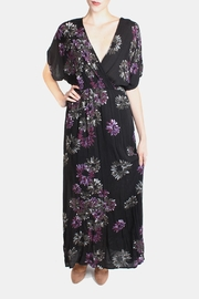 Final Touch Violet Wrap Maxi-Dress - Product Mini Image