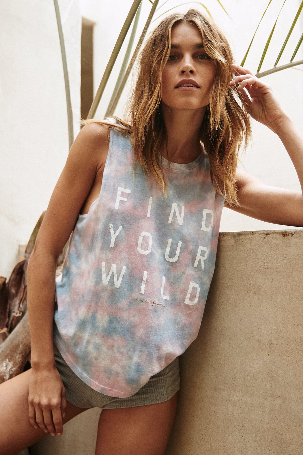 Spiritual Gangster  Find Your Wild Muscle Tank - Main Image
