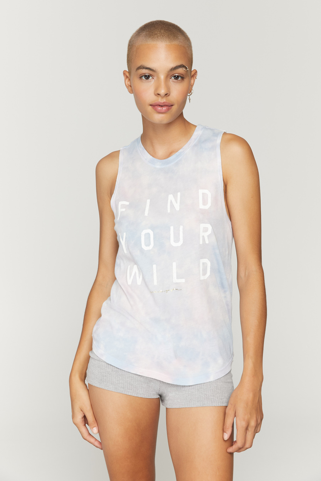 Spiritual Gangster  Find Your Wild Muscle Tank - Front Full Image