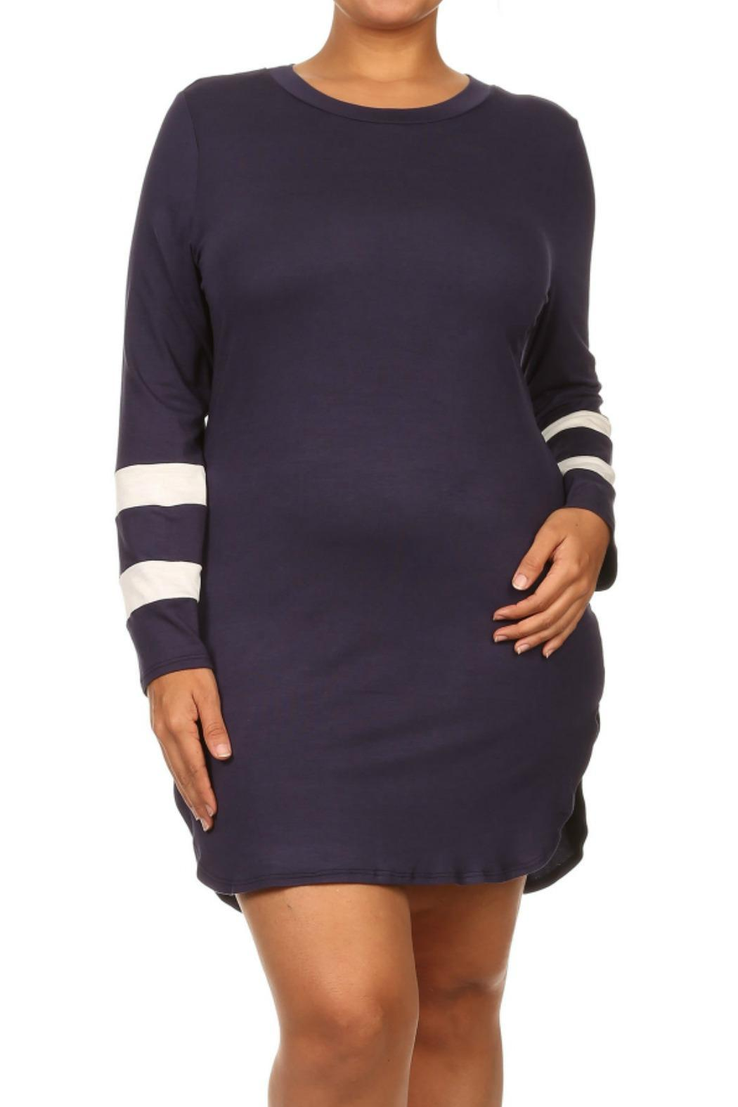 Find Me Plus Football Jersey Dress From Atlanta By