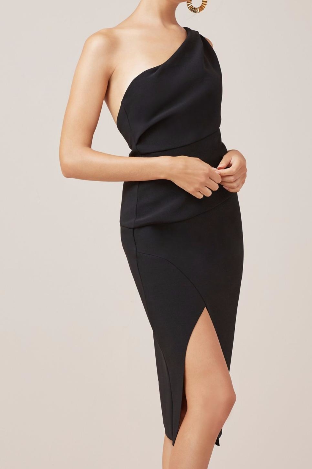 Finders Keepers Oblivion Midi Dress - Side Cropped Image