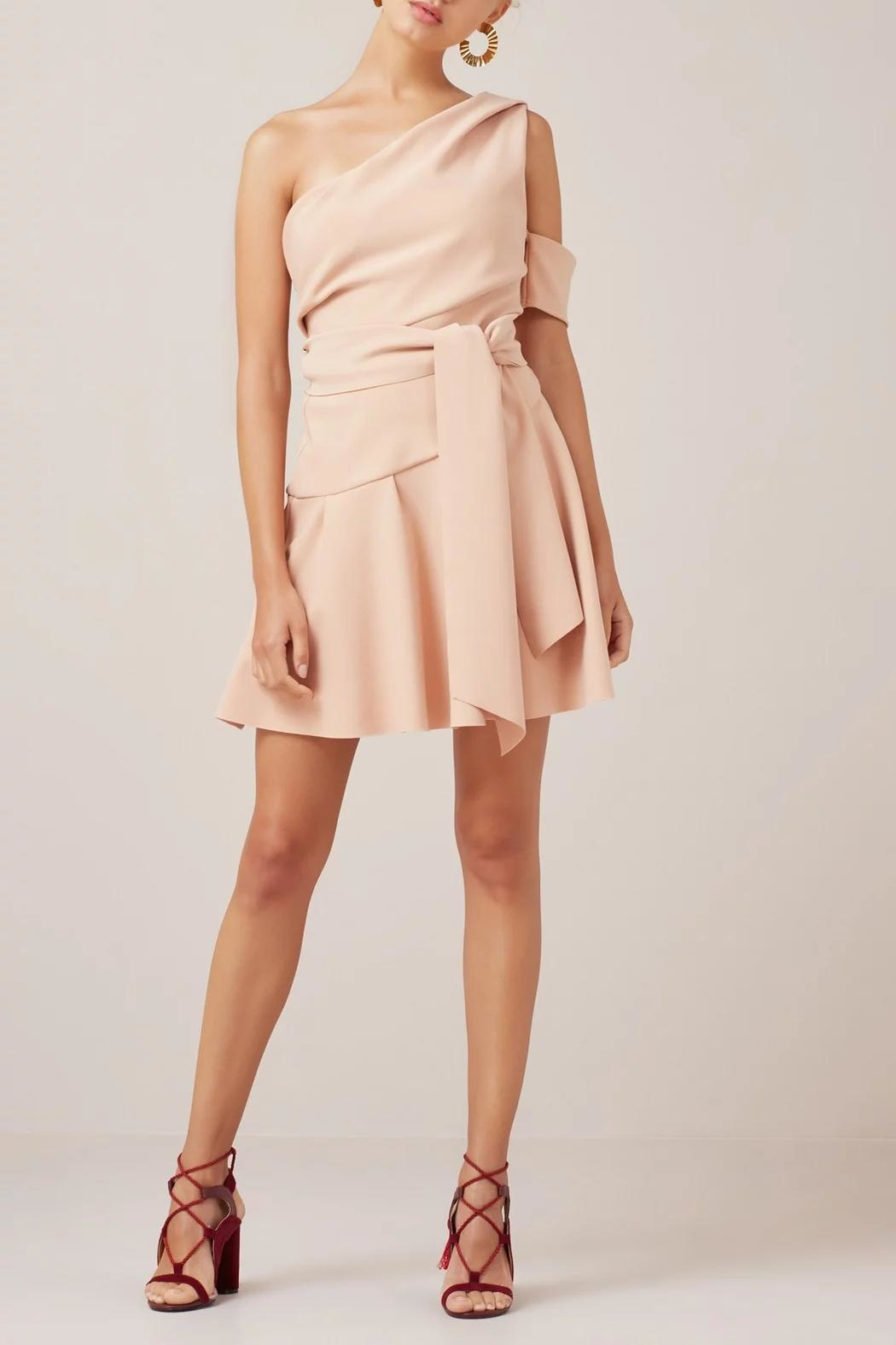 Finders Keepers Oblivion Mini Dress - Side Cropped Image