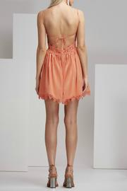 Finders Keepers Odelle Dress Apricot - Front full body