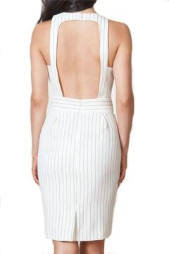 Finders Keepers Pinstripe Twist Dress - Alternate List Image