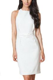 Finders Keepers Pinstripe Twist Dress - Product Mini Image