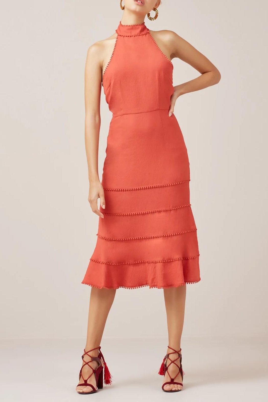 Finders Keepers Salt Lake Dress - Side Cropped Image