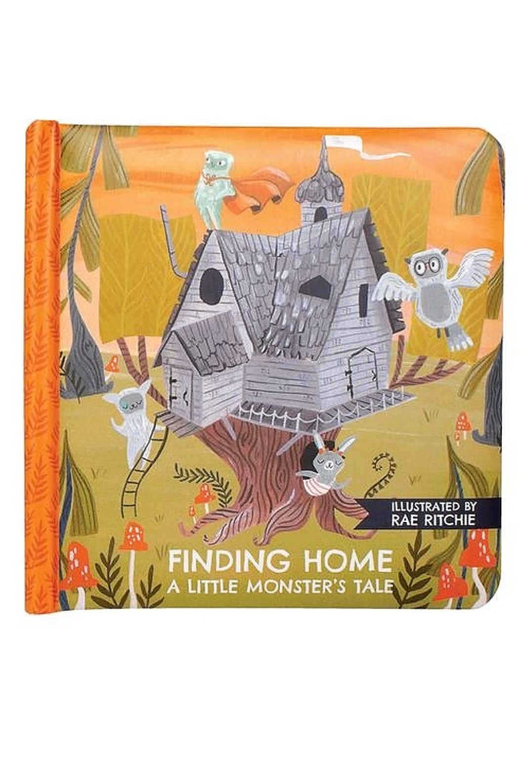 Manhattan Toy Company Finding Home A Little Monster's Tale Board Book - Main Image