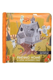 Manhattan Toy Company Finding Home A Little Monster's Tale Board Book - Front cropped