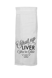 Twisted Wares Fine Liver Towel - Product Mini Image