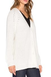 Fine Collection Cashmere Cardigan - Front full body