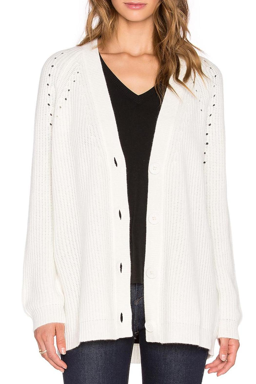 Fine Collection Cashmere Cardigan from Toronto by La Boutique ...