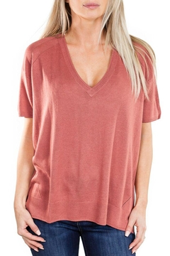 Fine Collection V Neck Sweater - Product List Image