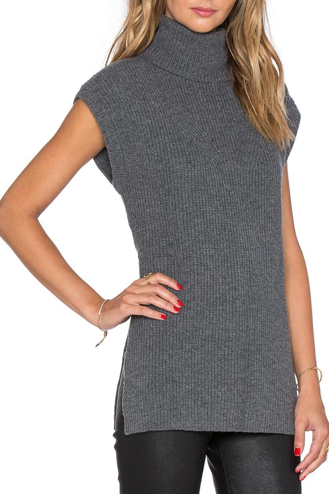 Fine Collection Sleeveless Turtleneck Sweater From Toronto
