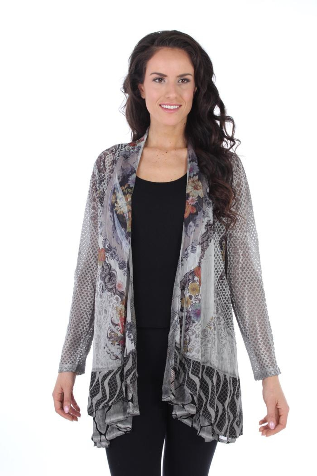 Fine Line Imports Chloe Printed Cover-Up - Main Image
